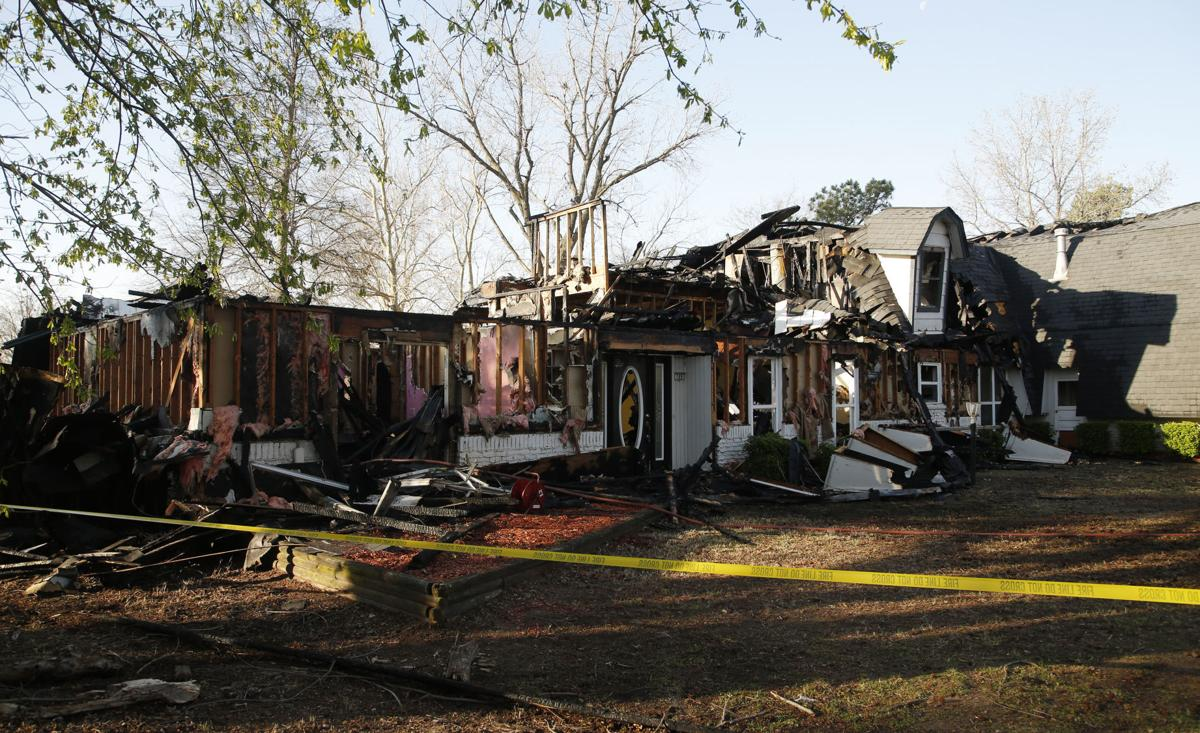 Bever Home Destroyed