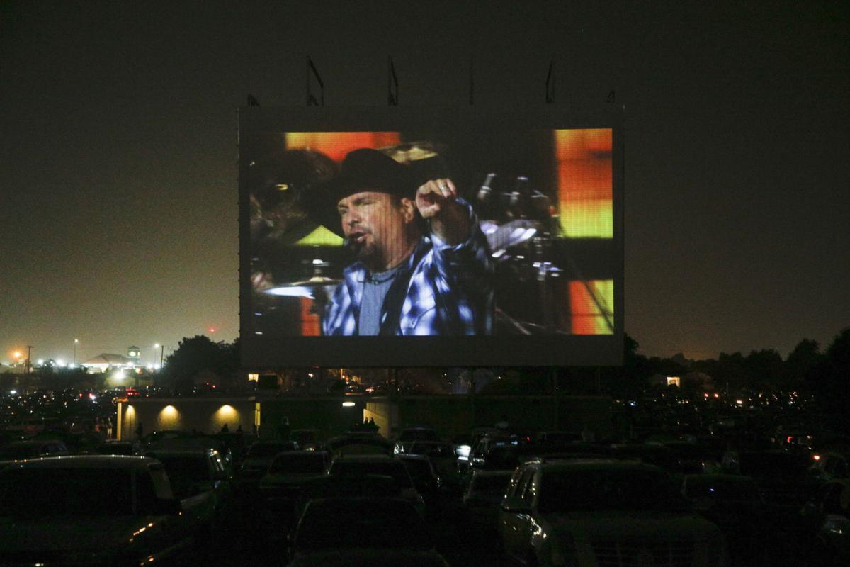 Garth Brook Drive-In Concert