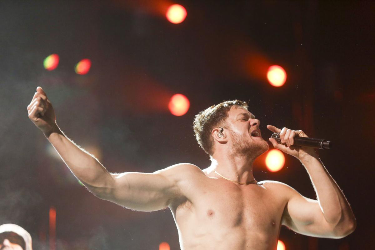 imagine dragons  Photo gallery: Imagine Dragons at the BOK Center | Gallery ...