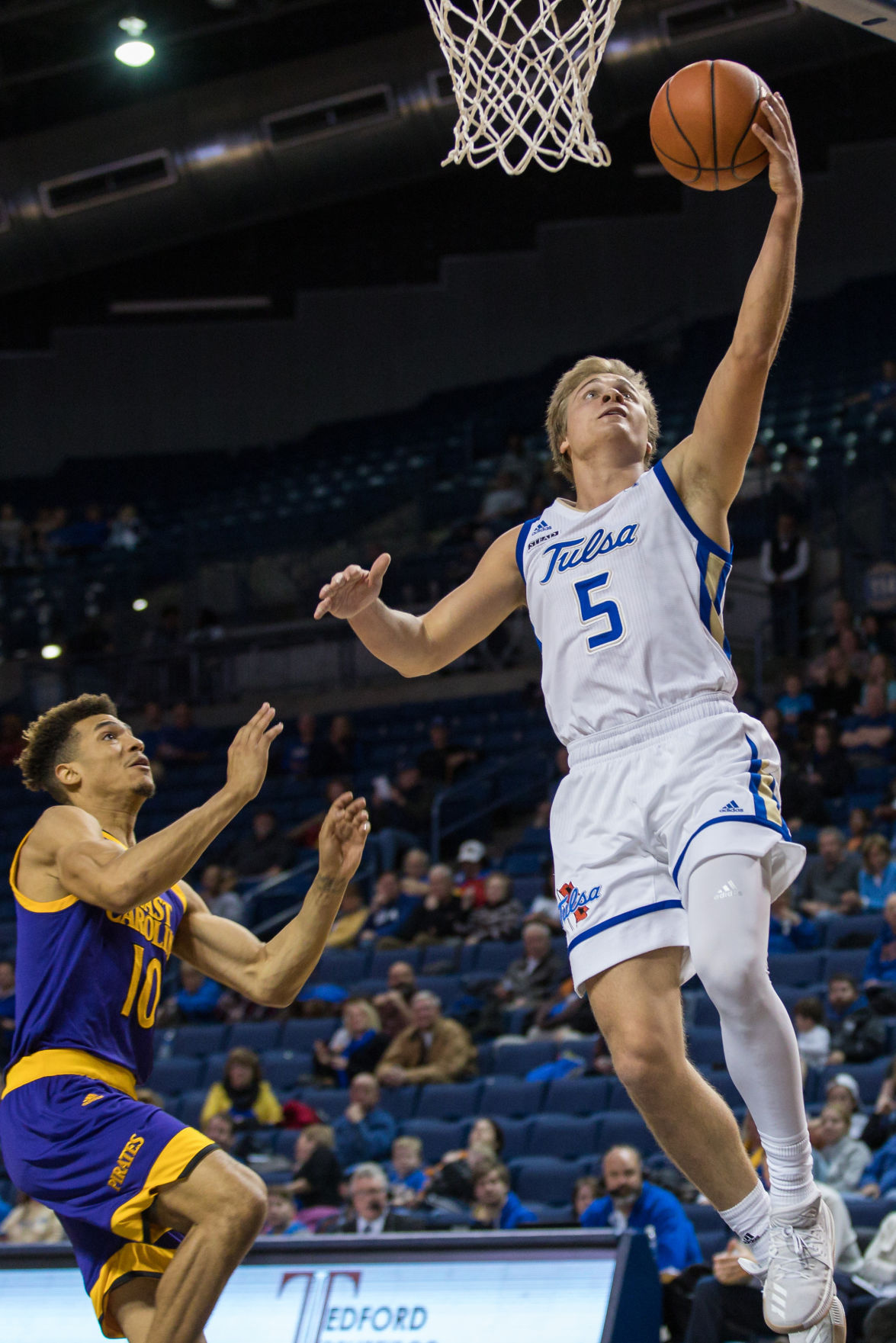 TU pulls away in second half, routs East Carolina 79-53 in AAC opener | TU Sports Extra ...