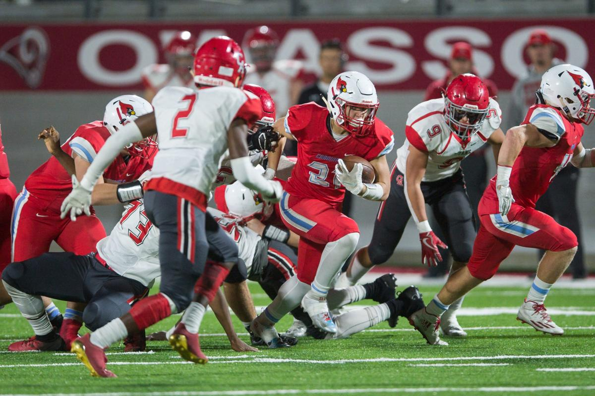 High School Football Playoffs Collinsville Bishop Kelley Fall In