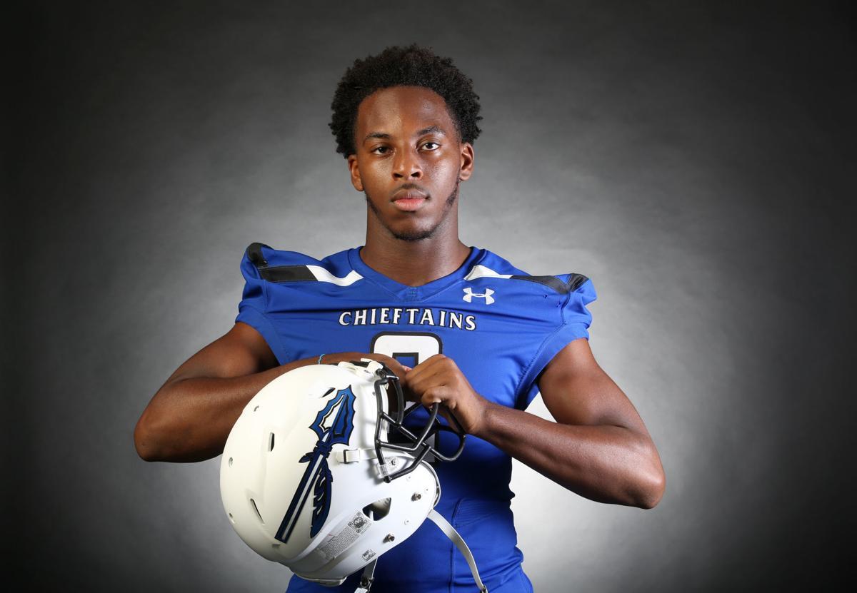 5. Sapulpa senior quarterback Eli Williams