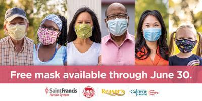 Free masks until June 30