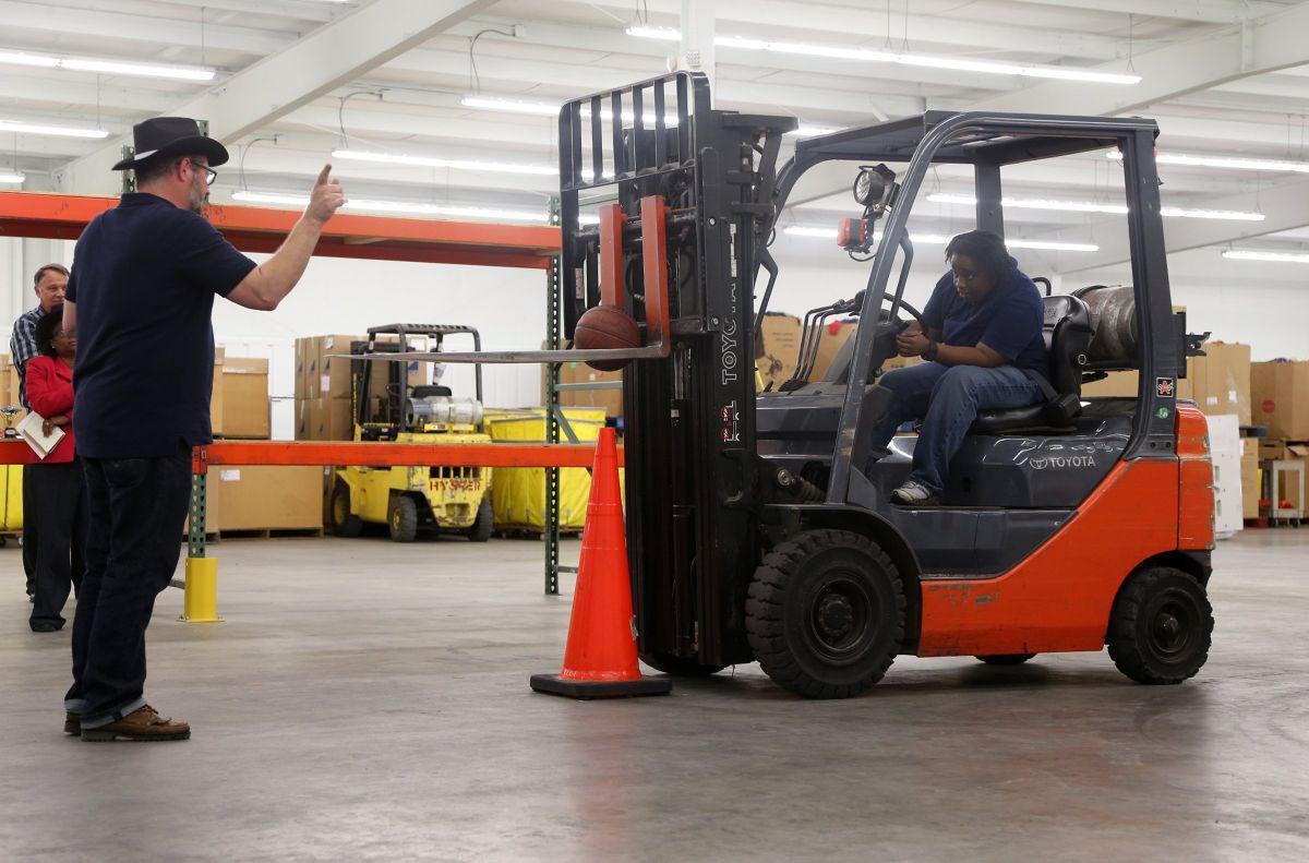 Forklift Rodeo Not Big Sport But Fun Nonetheless Work Money