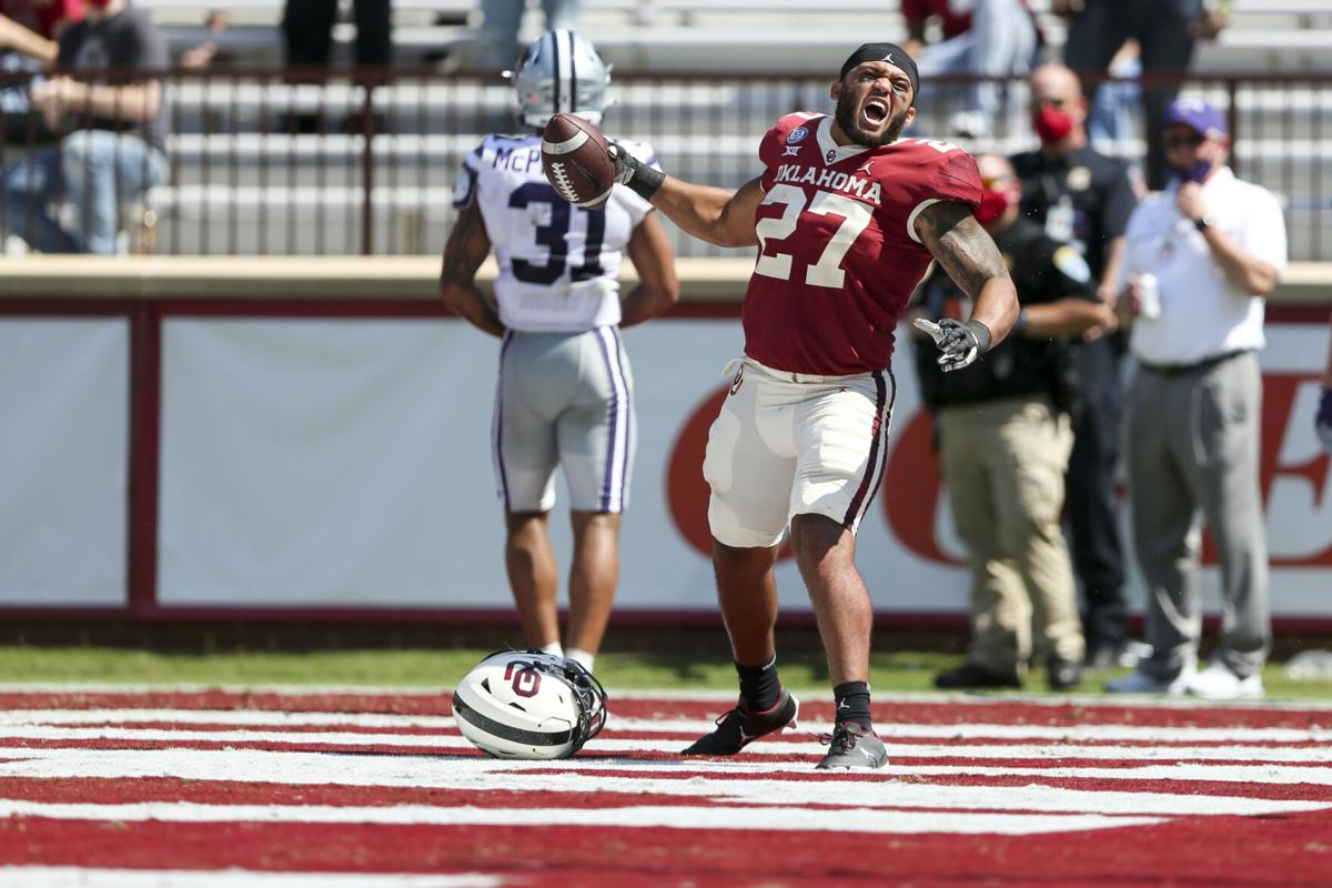 Jeremiah Hall waited his time to make plays at OU. Now he's flourishing