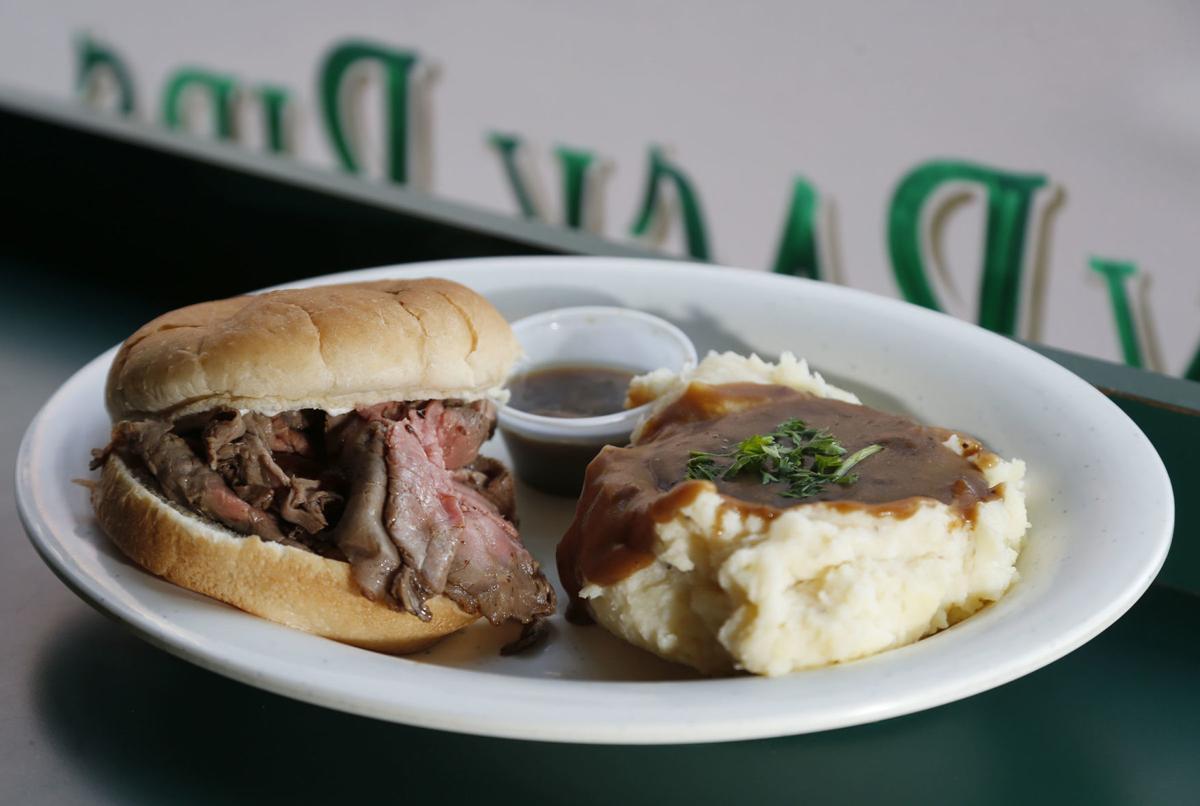 Ike's beef sandwich