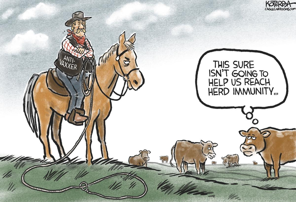 Cartoon: Herd Immunity | Columnists | tulsaworld.com