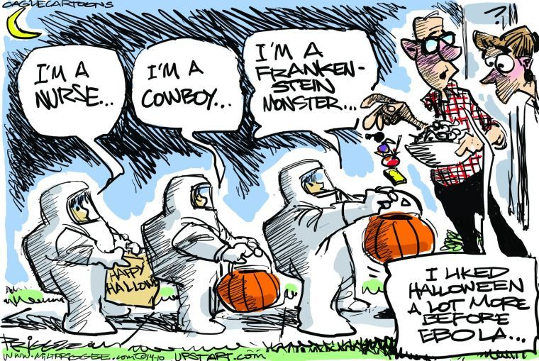 Halloween Is Funny 27 Political Cartoons About Tricks And