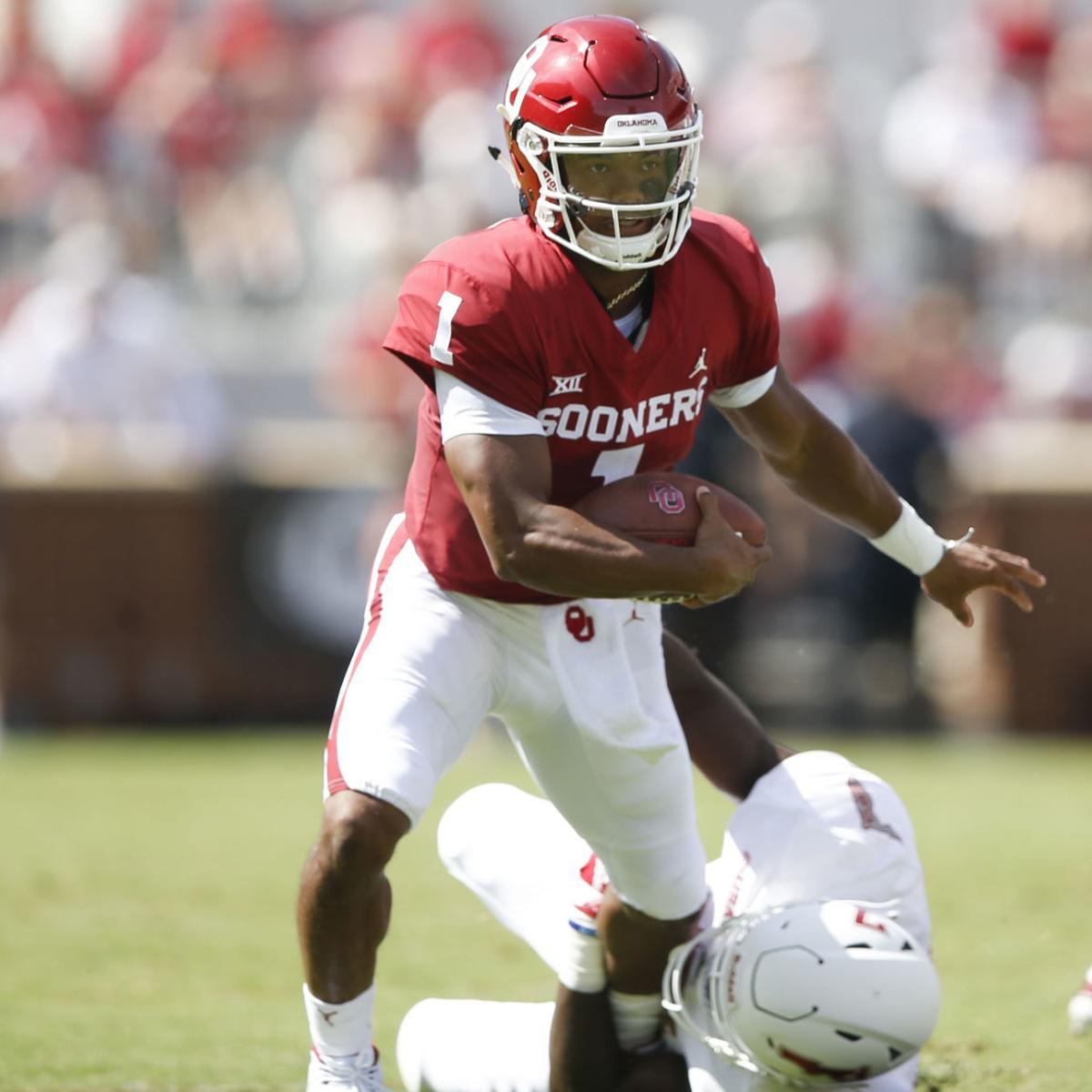 buy popular 0c3b2 5d7a1 FAU at No. 7 Oklahoma: Murray throws for 200 yards, Anderson ...