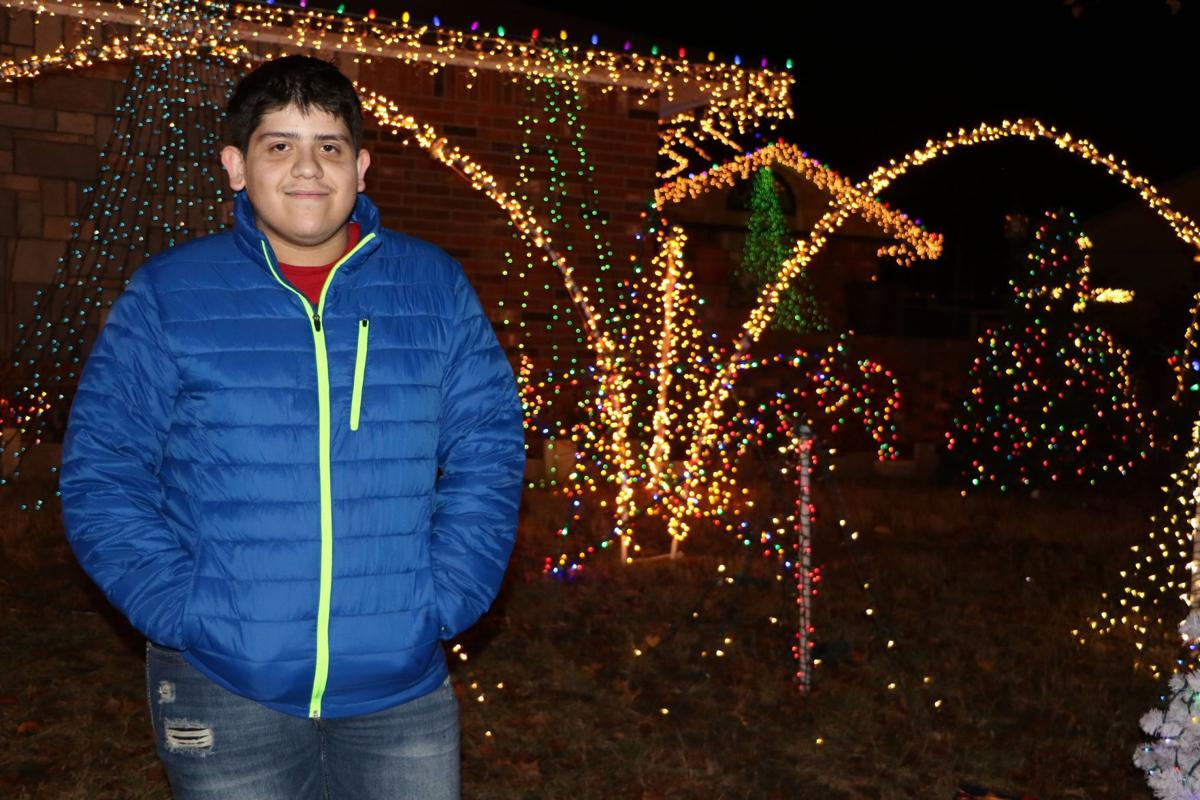 Torres first got the idea to start his own light show in 2009 after helping his father decorate their home one winter day as part of their annual family ...