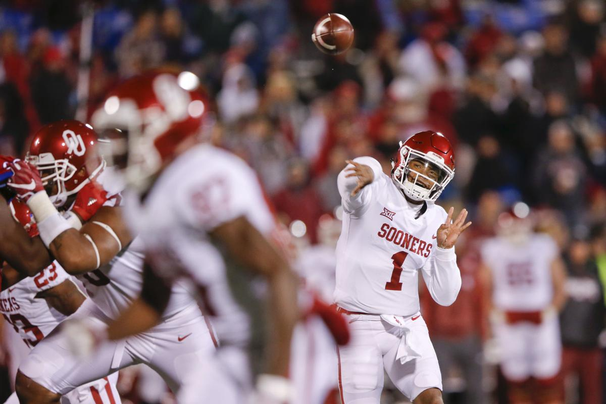 timeless design 1b47e c0c40 OU football: Kyler Murray says he has