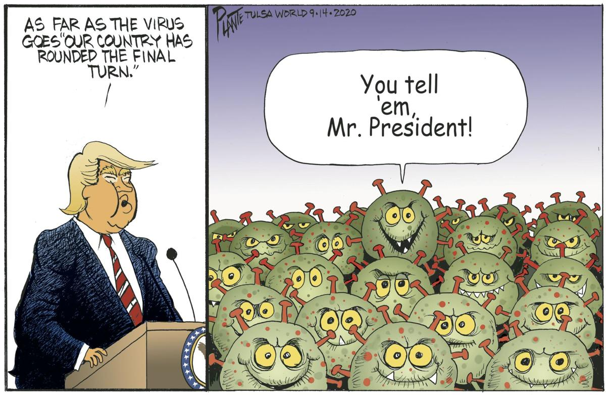 Bruce Plante Cartoon: The Final Turn?