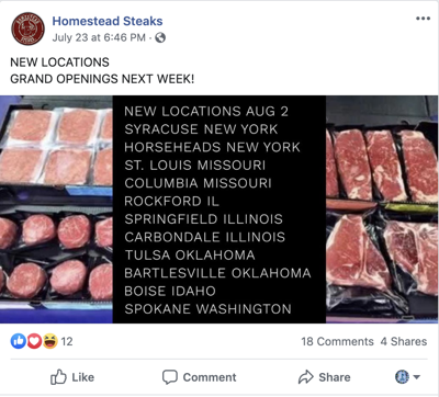 BBB Warns Consumers to Be Cautious of Buying Meat Products from