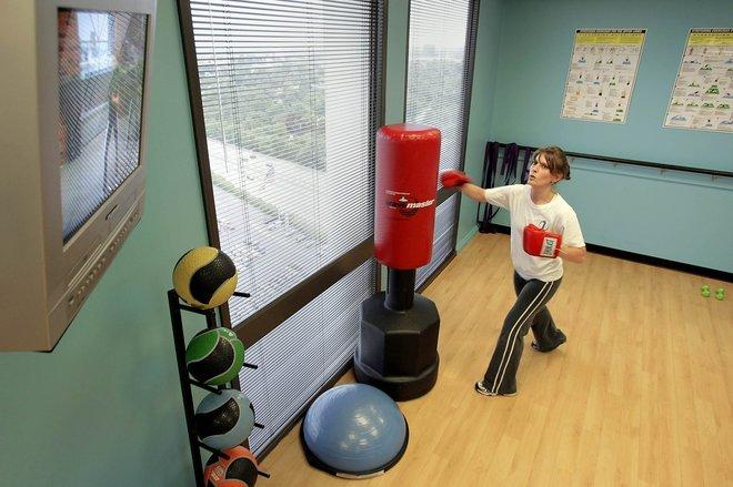 Office Gym Healthy Perk