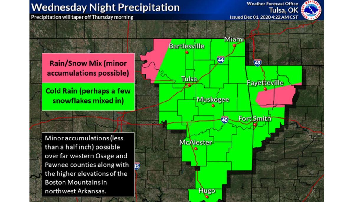 NWS Tulsa updated forecast 12/02/20
