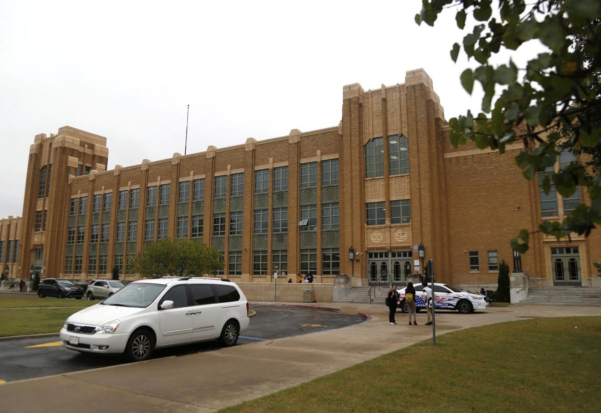 Will Rogers High School architecture (copy)