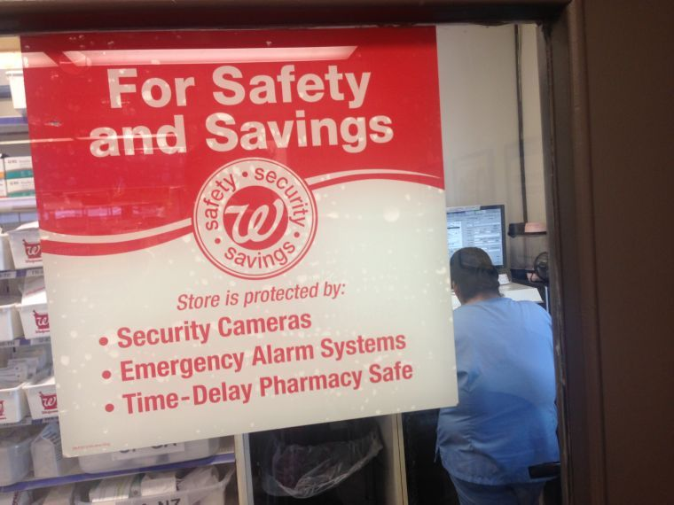 Walgreens' new pharmacy safes installed to deter drug robberies