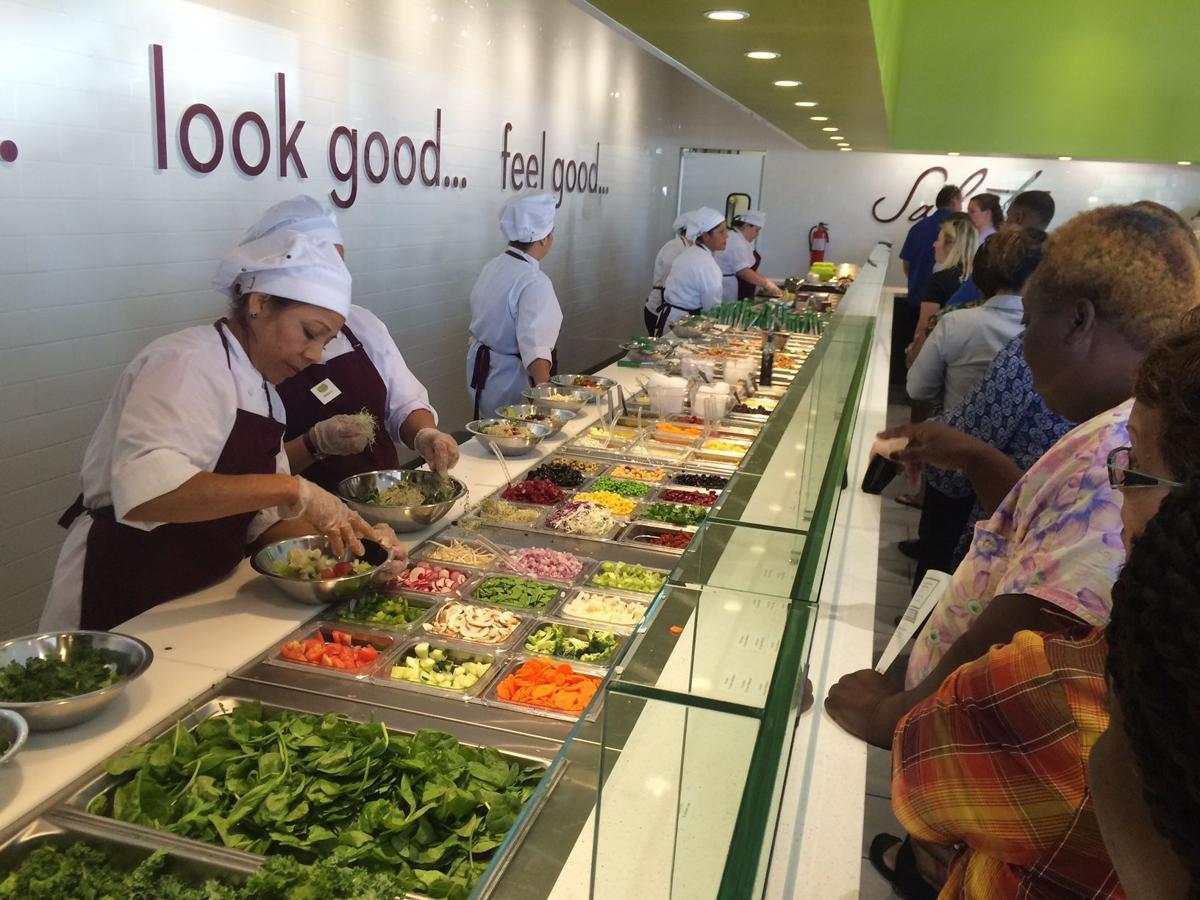 Salad bar Restaurant Chain Salata Bringing Three Sites To