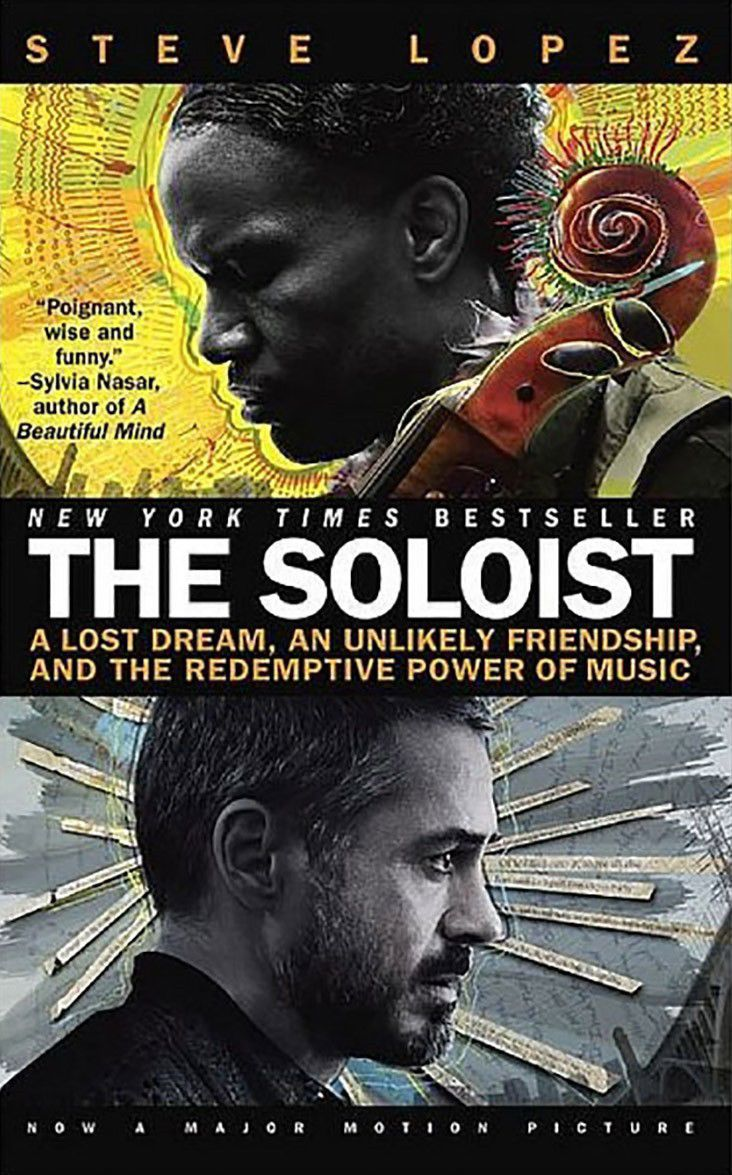 The Soloist' is library's 'One Book, One Tulsa' choice