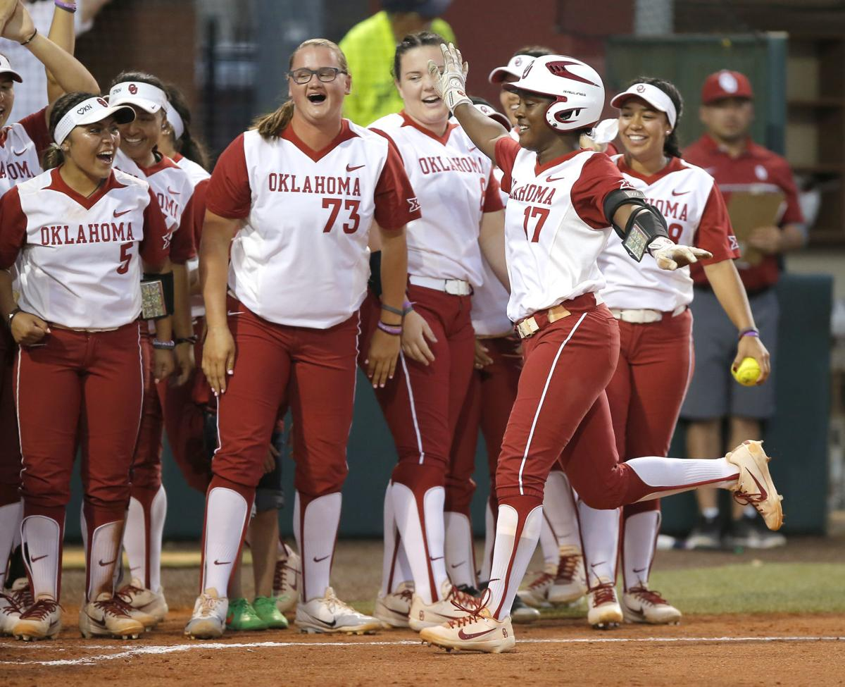 release date b3133 4d636 Bedlam softball: Paige Parker no-hits OSU as OU captures its ...