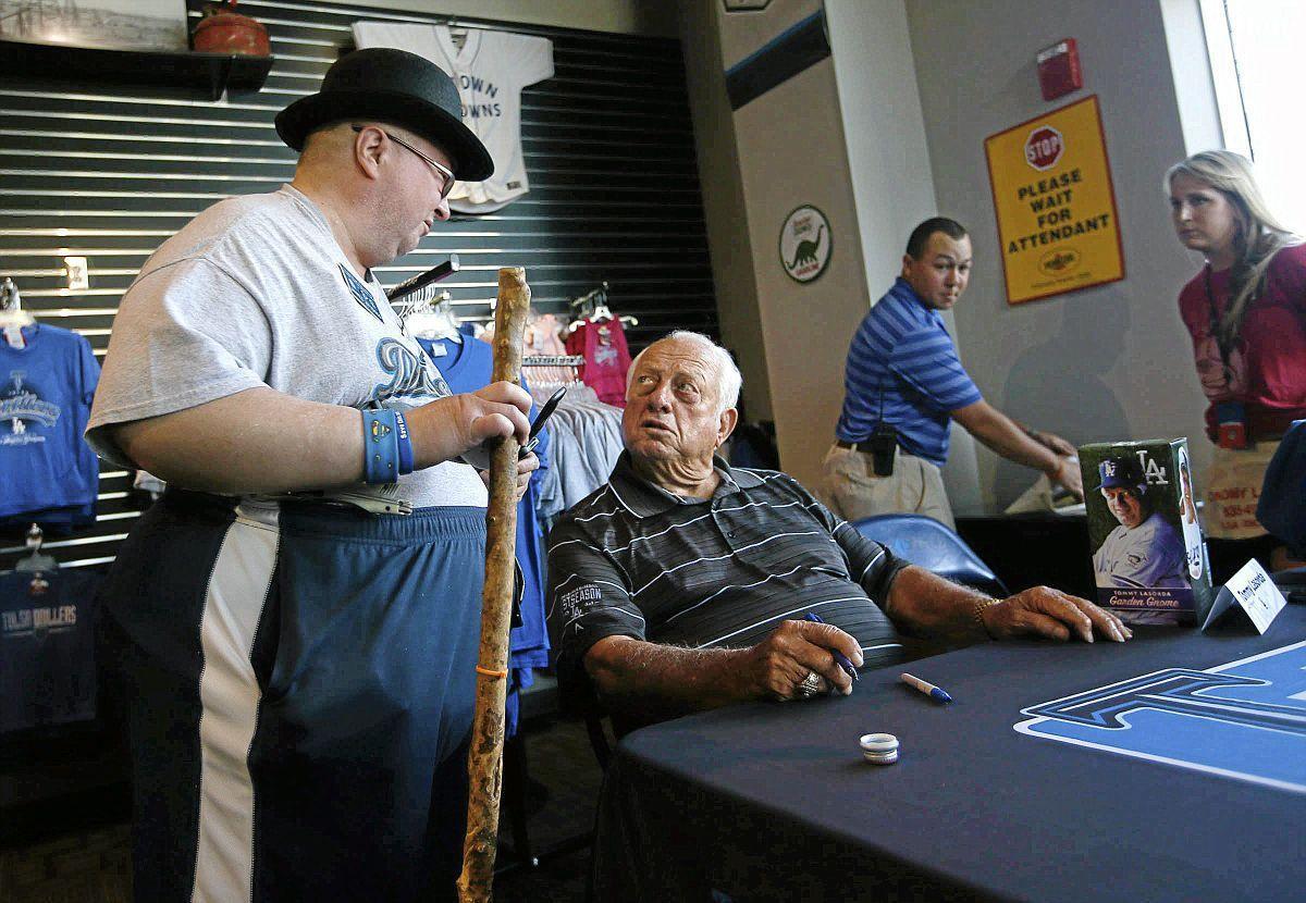 Dodgers legend Tommy Lasorda