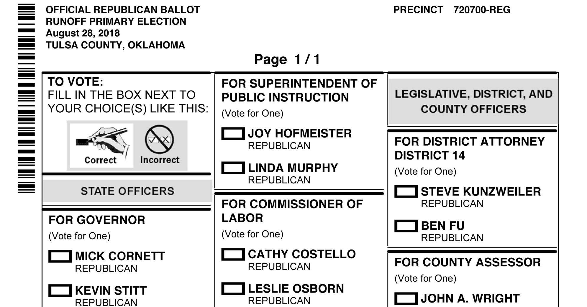 photo regarding Democrat or Republican Quiz for Students Printable called Order your pattern ballot for the Aug. 28 runoff election