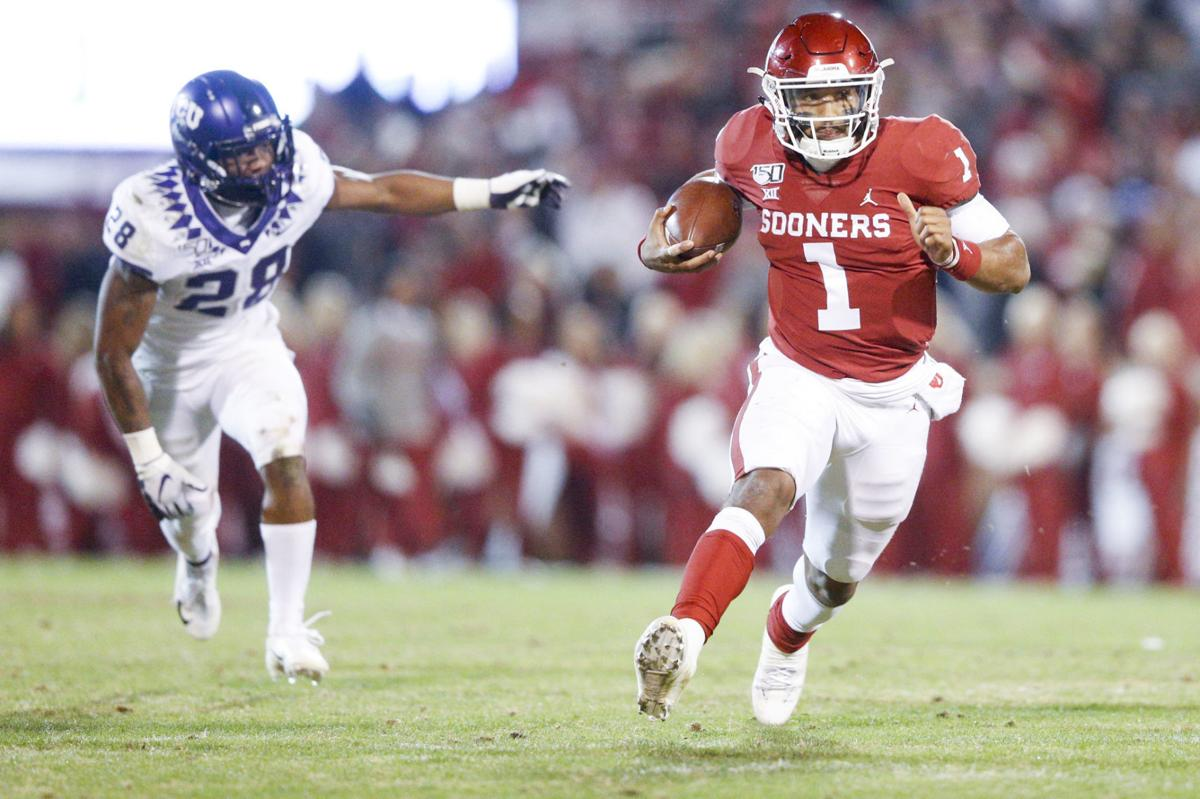 TCU Horned Frogs vs Oklahoma Sooners