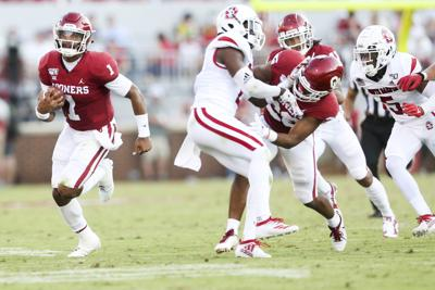 OU football: Will Jalen Hurts slide to avoid contact? 'I can