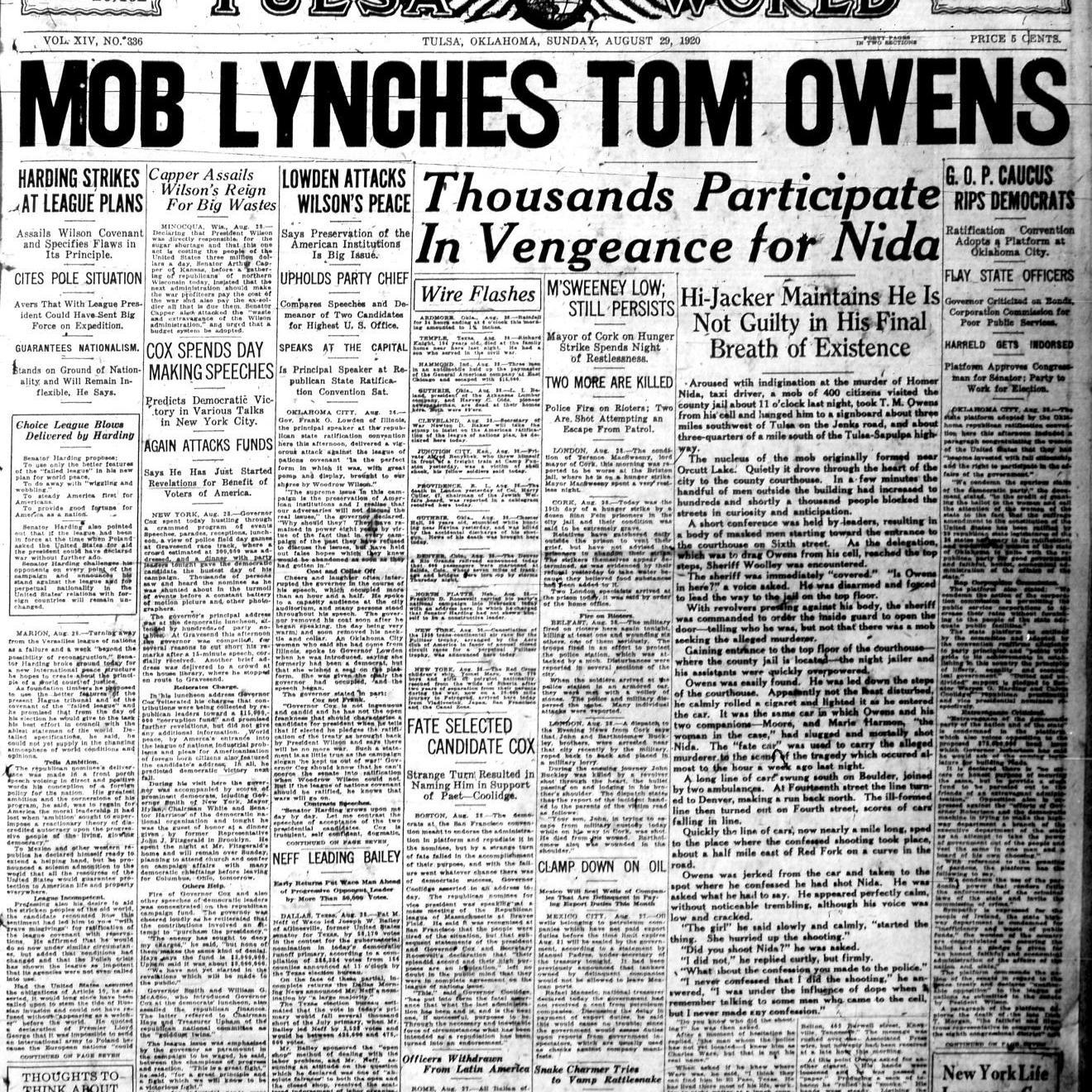Notorious Tulsa — 12 crime stories from Tulsa's past | Tulsa