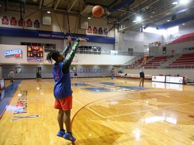 Coronavirus state basketball tournament preparation