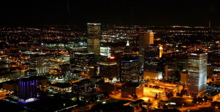 Image result for los angeles at night