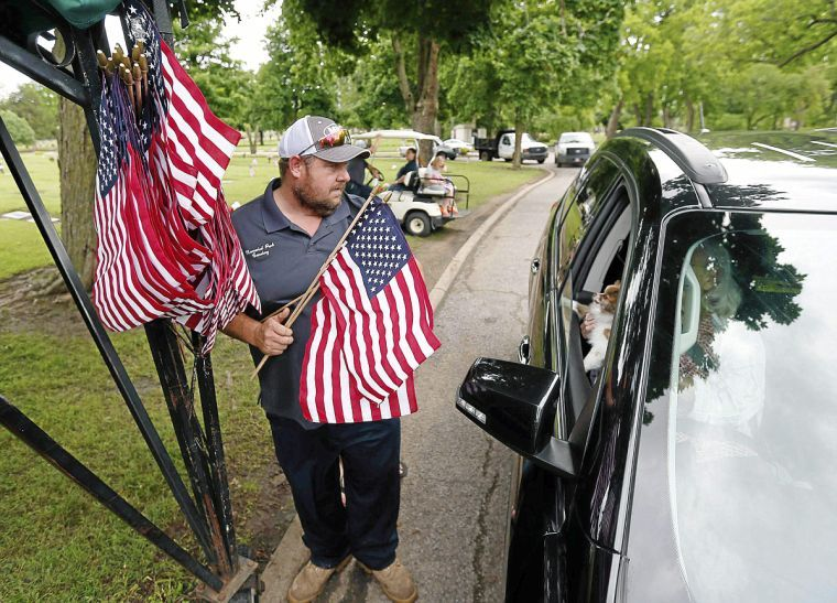 tulsa cemetery groundskeeper prepares all year for memorial day