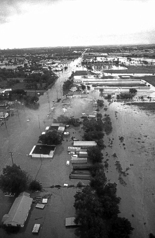 1984 Memorial Day Flood Aerial