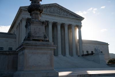 The U.S. Supreme Court in Washington, D.C., on Nov. 10, 2020.