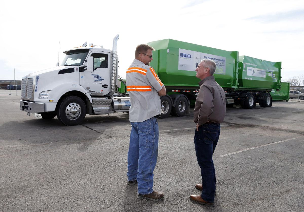 Recycling to the rescue trucking company s tulsa based corporate sustainability division gaining steam transportation tulsaworld com