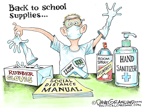 Syndicated cartoon gallery: Back to school 2020 | Columnists |  tulsaworld.com