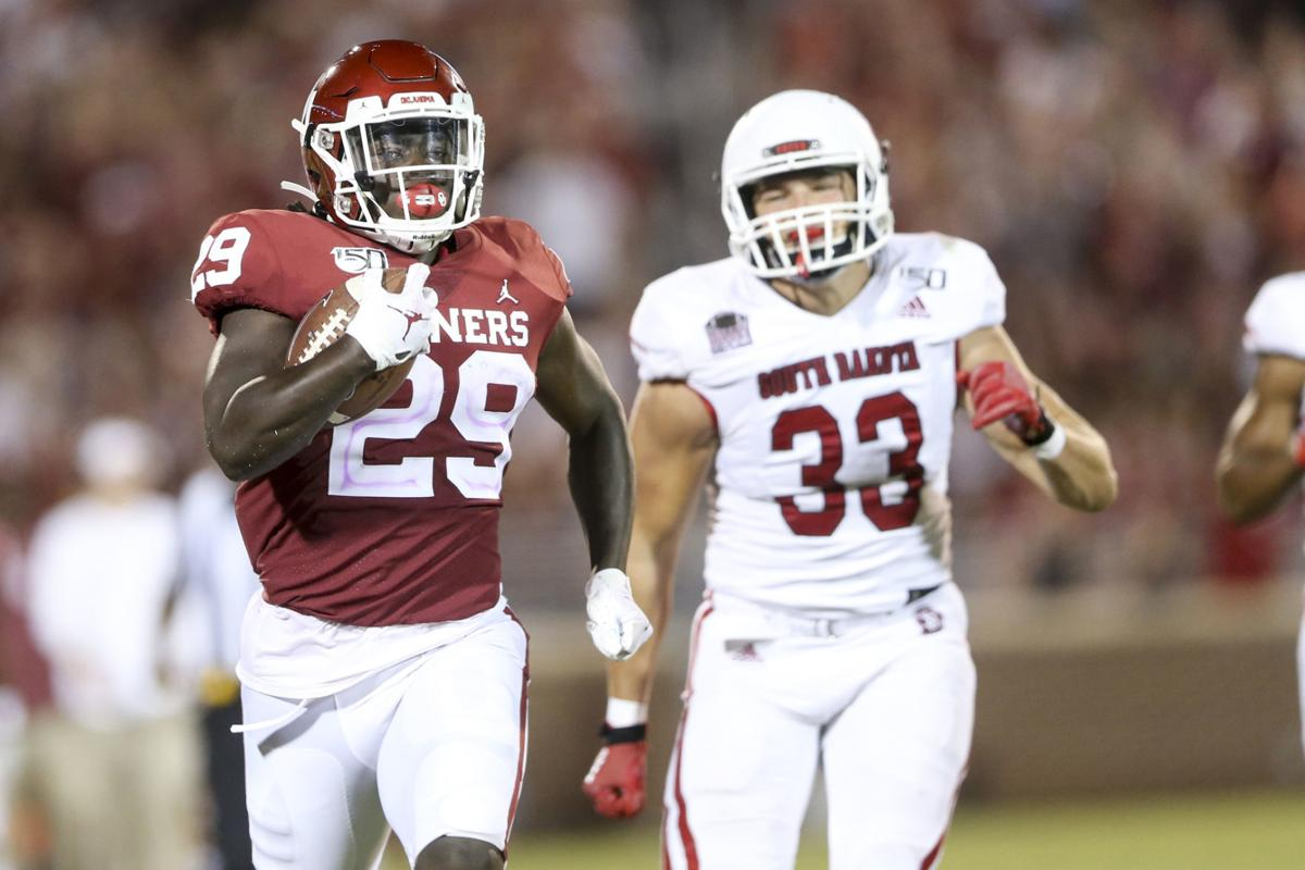 Oklahoma Sooners vs South Dakota Coyotes
