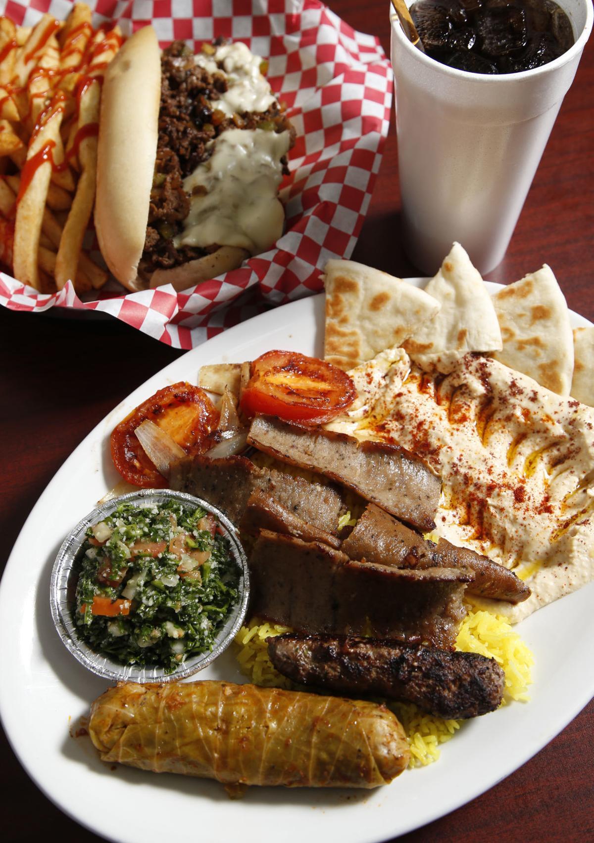 Steak & Bake Mediterranean platter 1
