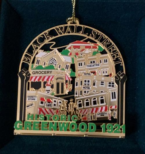 Tulsa Ornament