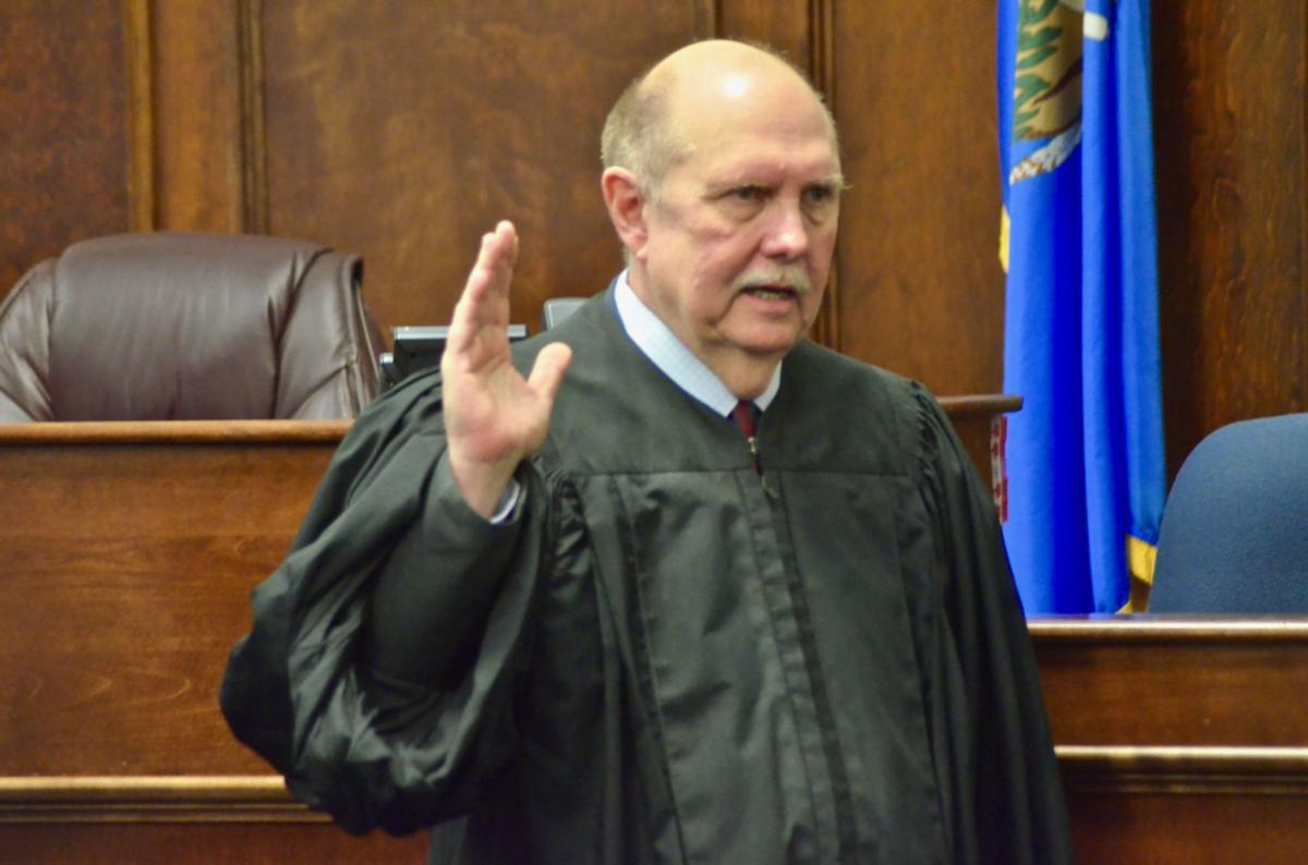Shook Sworn In As Associate District Judge On Jan. 14
