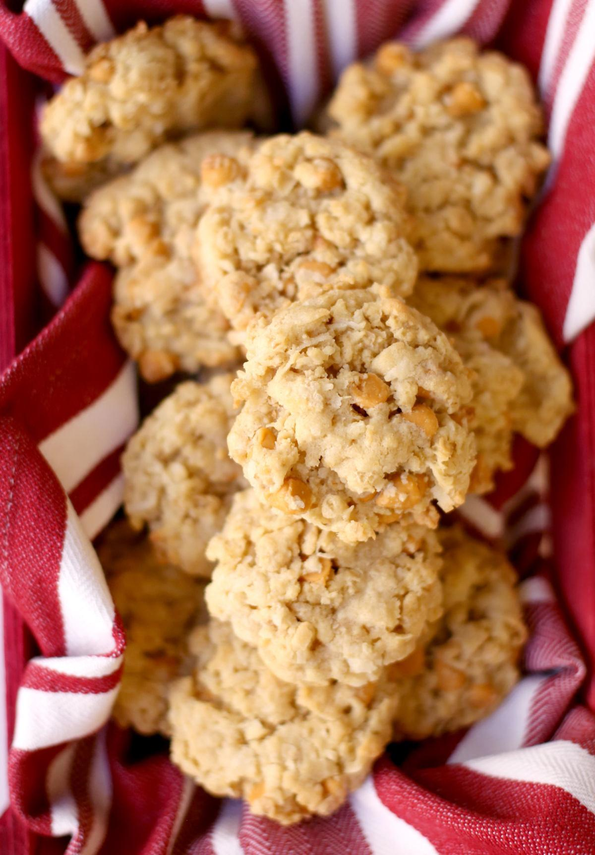 12 Days Of Cookies Day 4 Butterscotch Oatmeal Cookies Recipe