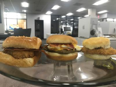 Wendy's new breakfast sandwiches: An