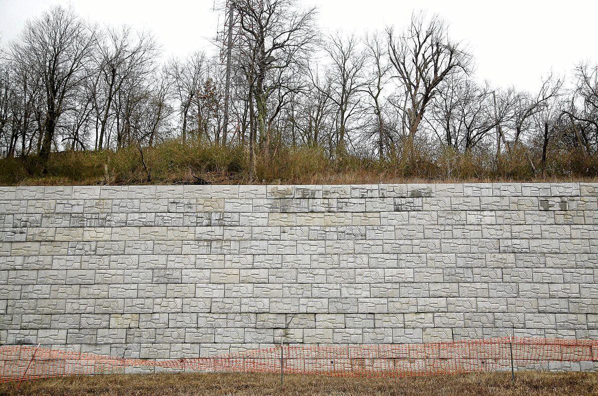 Repair of Broken Arrow's Tiger Hill retaining wall estimated