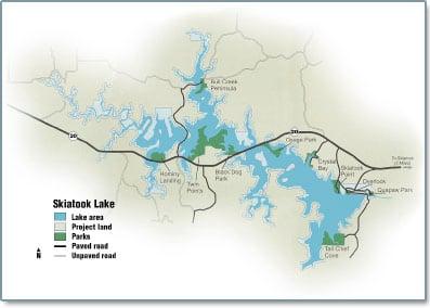 Skiatook hottest fishing spot archives for Skiatook lake fishing report