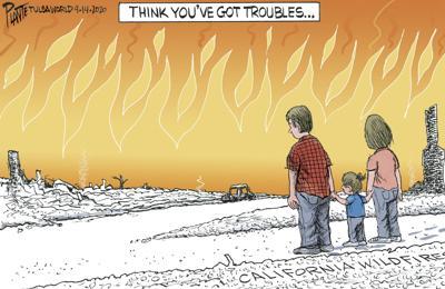 Bruce Plante Cartoon: Think you've got troubles...