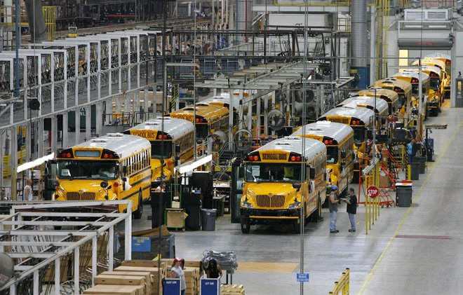 Tulsa's thriving IC Corp  factory delivers its 100,000th bus