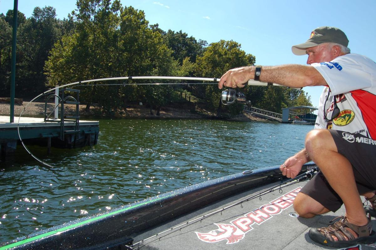 Kelly bostian seminar will feature crappie 39 dock shooting for Crappie fishing lake of the ozarks