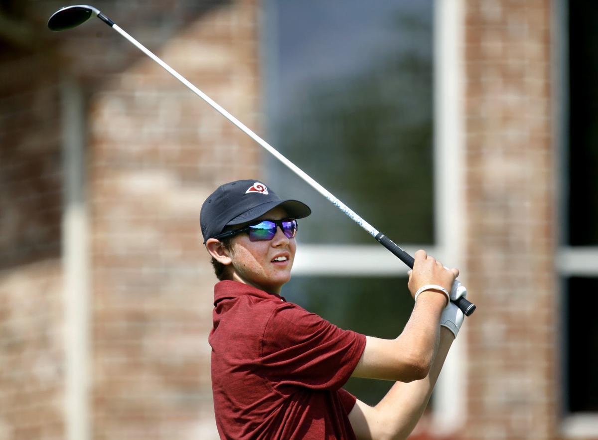 6A boys state golf: Final round
