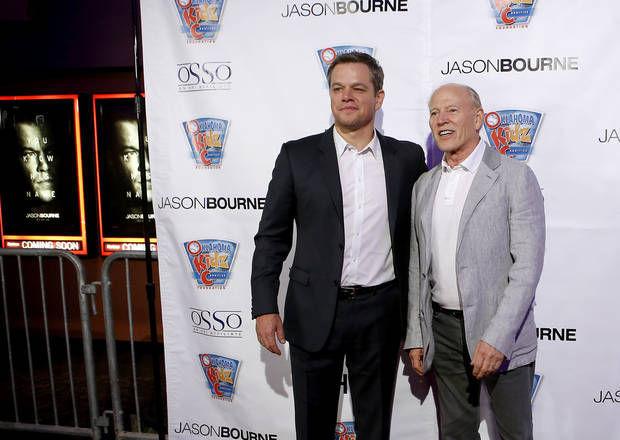 Matt Damon visits Okla...