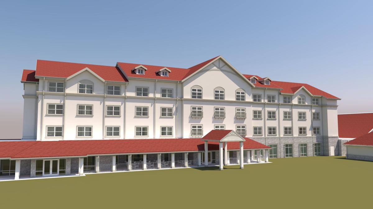 Medical Resort rendering